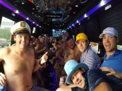 Bringing a Water Fountain Onto a Party Bus