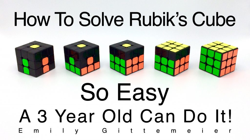 The Way To Solve Rubiks Cube